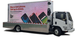 LED Mobile billboard truck
