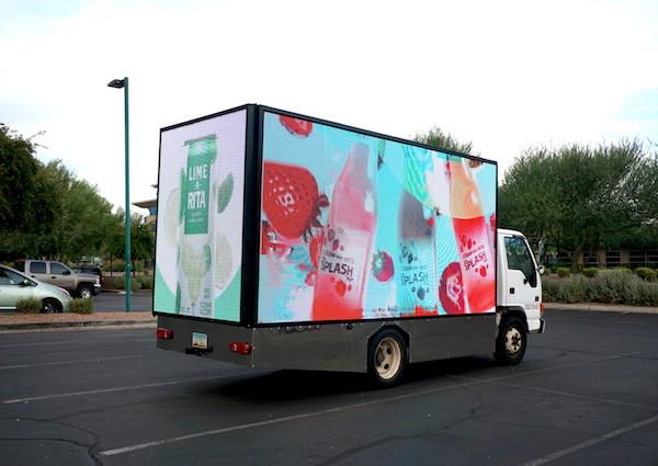Truck Advertising-led-truck-