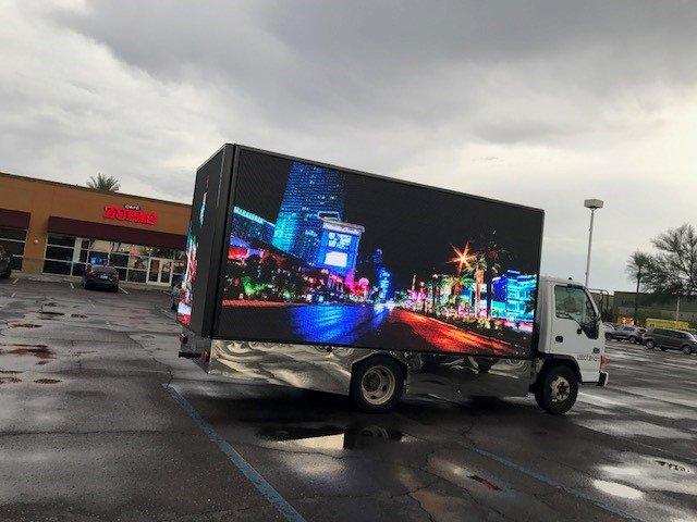video Mobile billboard