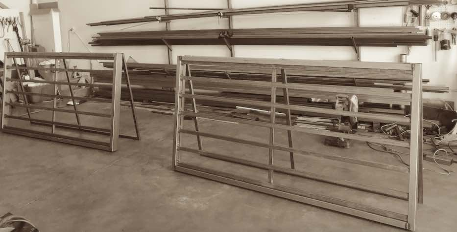 our fabrication shop